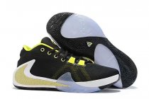 Nike Air Zoom Freak 1 Shoes Black Yellow Orange