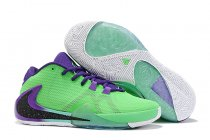 Nike Air Zoom Freak 1 Shoes Green Purple Black