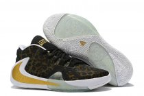 Nike Air Zoom Freak 1 Shoes Leopard Gold