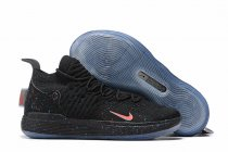 Nike KD 11 Shoes Black Blue Red