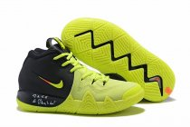 Nike Kyrie 4 Black Fluorescence Green
