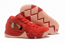 Nike Kyrie 4 Red Flower-logo