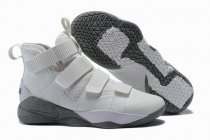 Nike Lebron James Soldier 11 Shoes White Grey