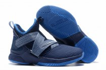 Nike Lebron James Soldier 12 Shoes Blue