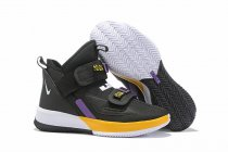 Nike Lebron James Soldier 13 Shoes Black Yellow