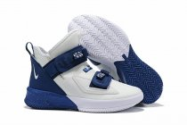 Nike Lebron James Soldier 13 Shoes Navy White
