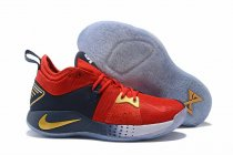 Nike PG 2 Red Yellow