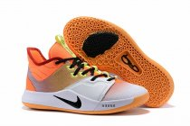 Nike PG 3 Orange Yellow