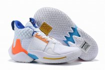 Westbrook 2 Shoes White Blue Orange