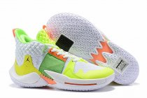 Westbrook 2 Shoes White Green Orange