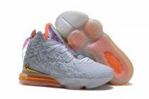 Nike Lebron James 17 Air Cushion Women Shoes White Rainbow