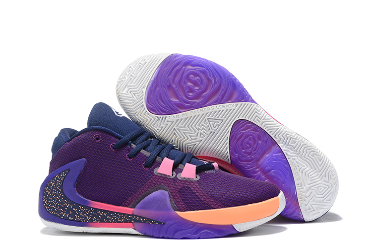 Nike Air Zoom Freak 1 Shoes Purple