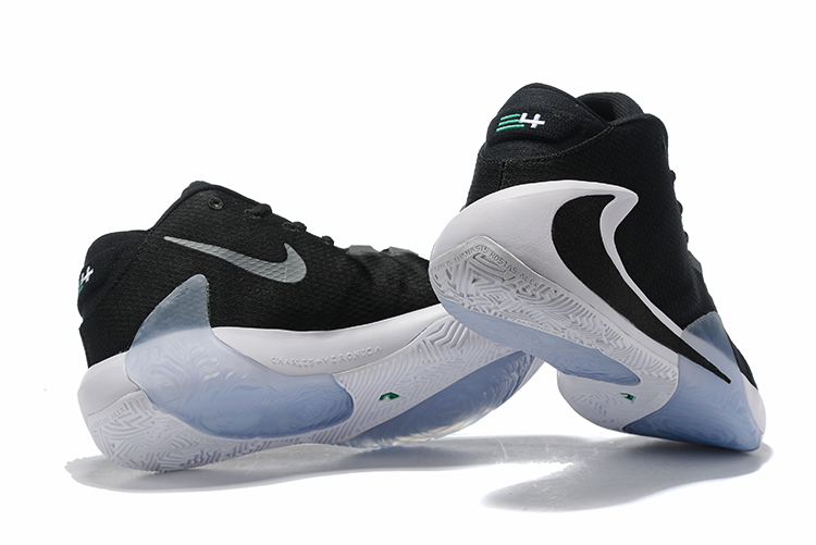 Nike Air Zoom Freak 1 Shoes White Black