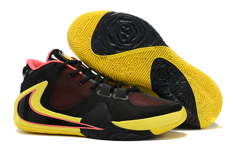 Nike Air Zoom Freak 1 Shoes Yellow Black Red