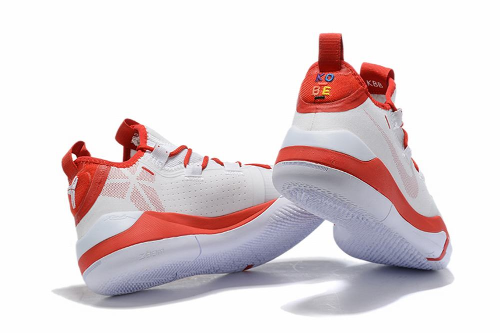 Nike Kobe AD EP Shoes White Red