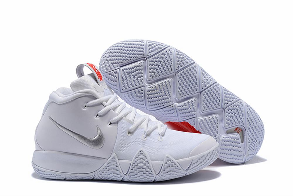 Nike Kyrie 4 Christmas Love White