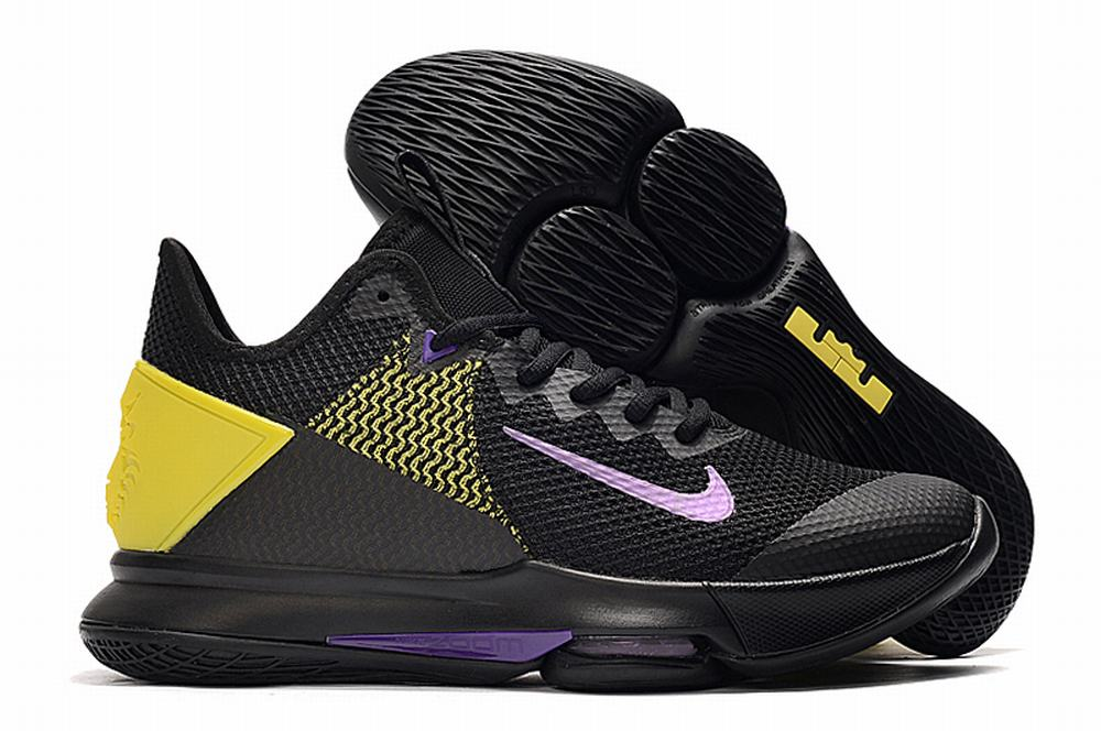 Nike Lebron James Witness 4 Shoes Lakers
